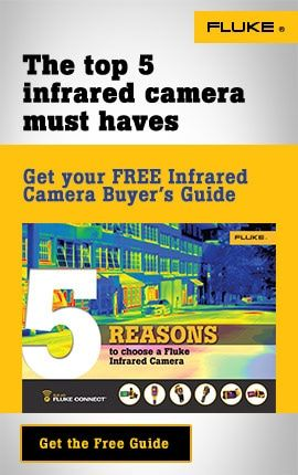 Click here for FLUKE infrared cameras.