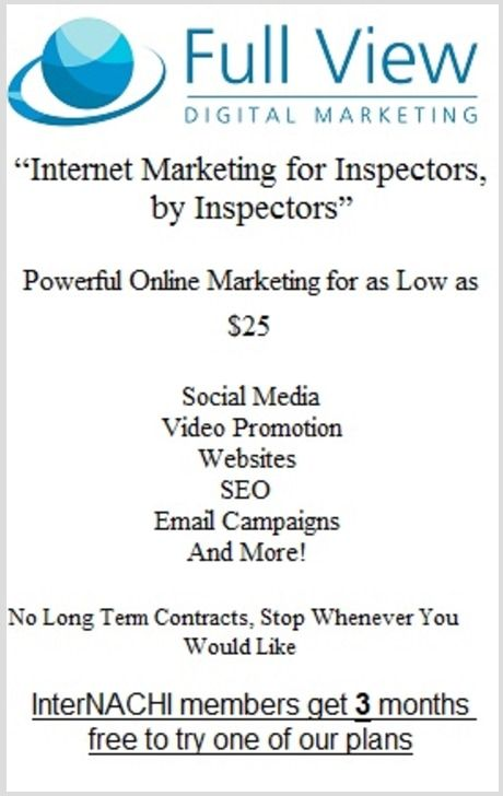 Full View Digital Marketing for Inspectors.