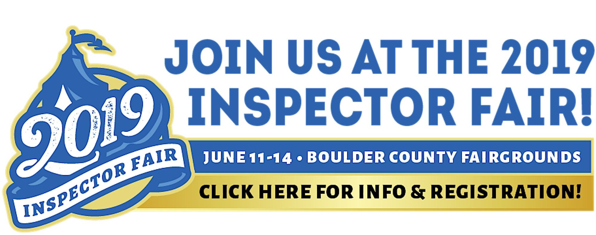 Click Here for the Free 2019 Inspectors Fair